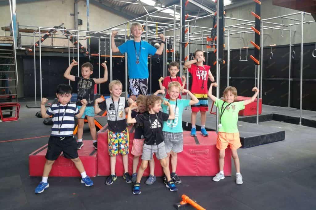 Australian Warrior Fitness Kids